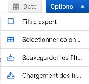 Qu'est-ce que le filtre expert ?